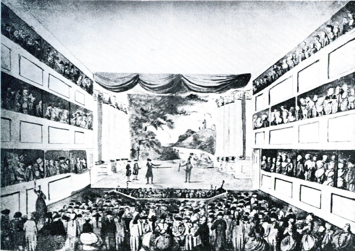 <b>Theatre Royal, Bath</b>     	</br>Interior of the Theatre Royal, Bath, England, 19th century</br><br/><b>Source: </b><i>Theatre Royal, Theatre Database, European Theatre Architecture, Arts and Theatre Institute, Prague, http://www.theatre-architecture.eu/db.html?filter%5Blabel%5D=&amp;filter%5Bcity%5D=bath&amp;filter%5Bstate_id%5D=0&amp;filter%5Bon_db%5D=1&amp;filter%5Bon_map%5D=1&amp;theatreId=697</i>