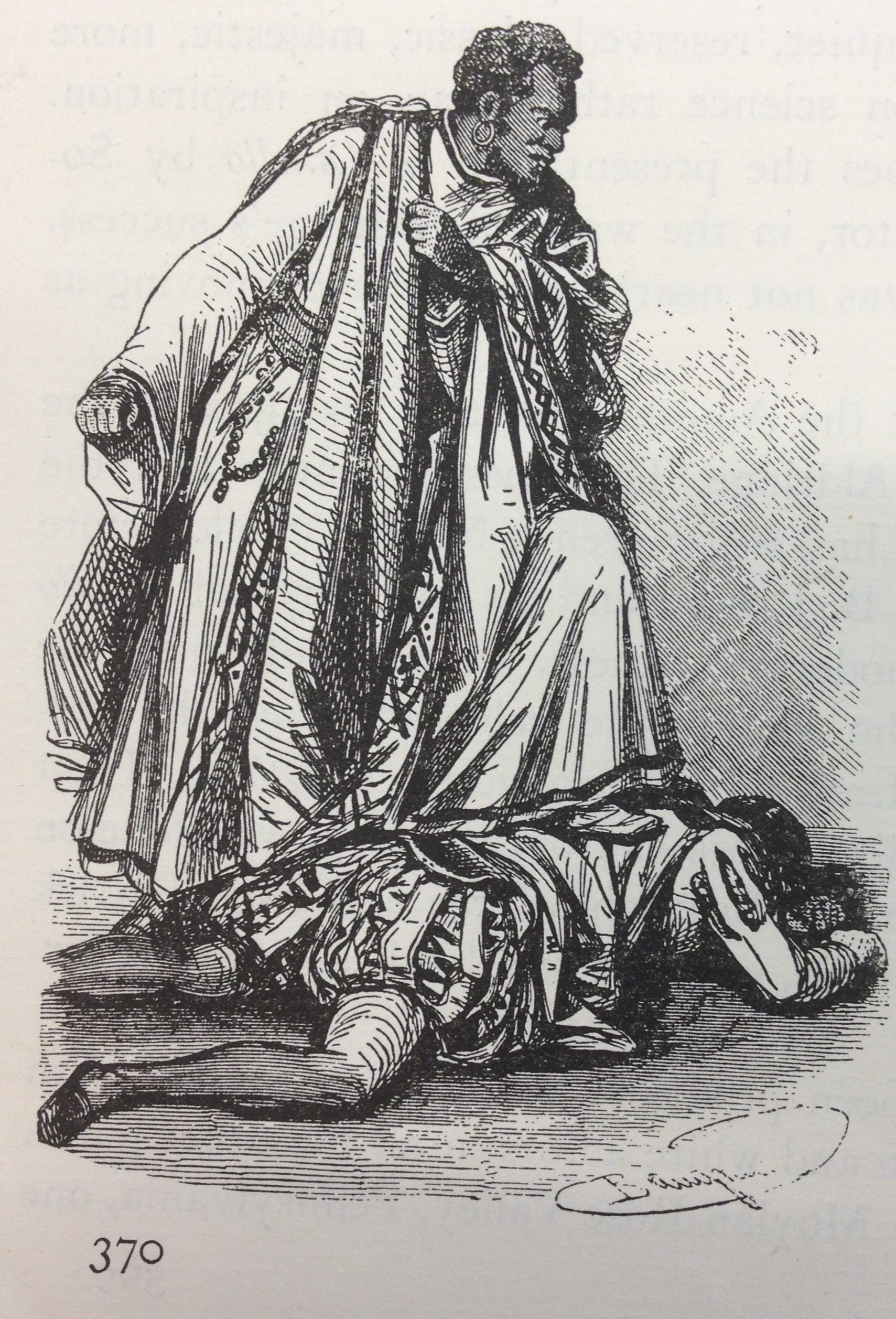 <b>Zanga, 1848</b>     	</br>Ira Aldridge as Zanga in The Revenge at the Surrey Theatre, London, 1848.</br><br/><b>Source: </b><i>Used with permission from the University of Bristol Theatre Collection.</i>